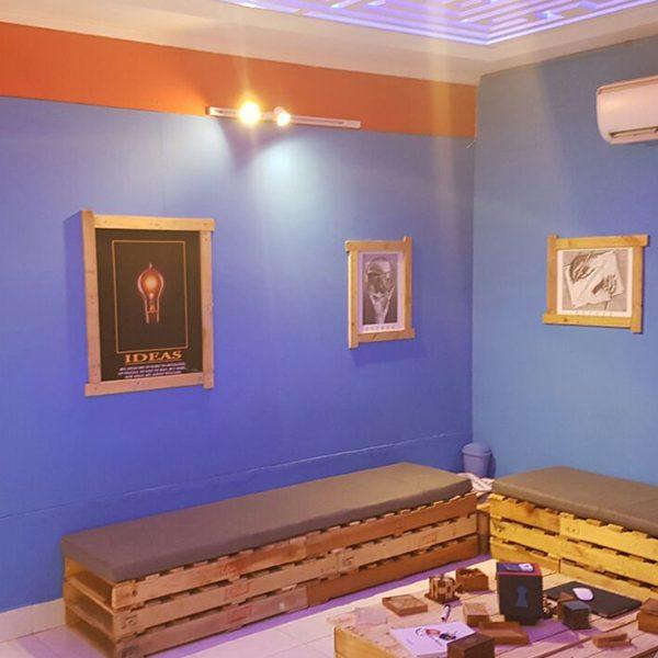 Fotografía del proyecto de Diseño y remodelación del interior de Escape Room Panama